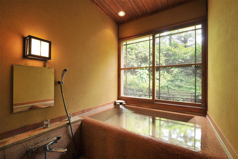本館 半露天風呂付き特別室 【山吹】メイン画像